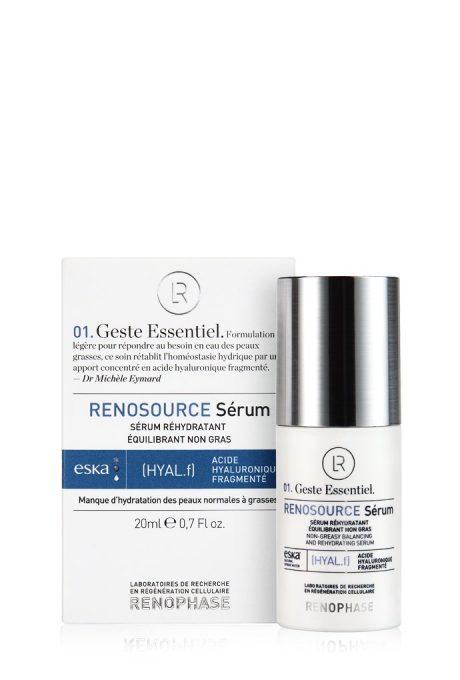 effective moisturizing serum with hyaluronic acid
